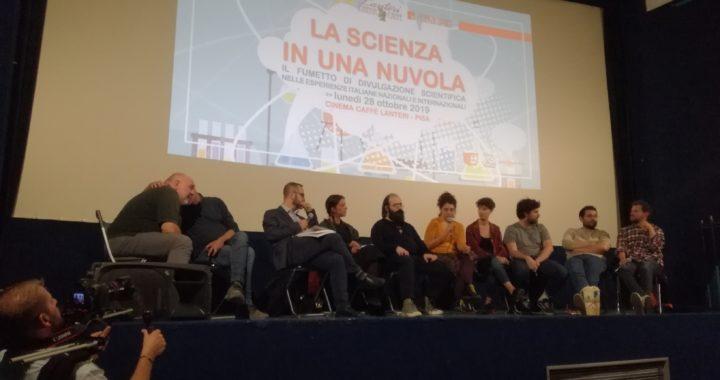 F&P: La scienza in una nuvola | Panel sul fumetto di divulgazione scientifica al Lanteri